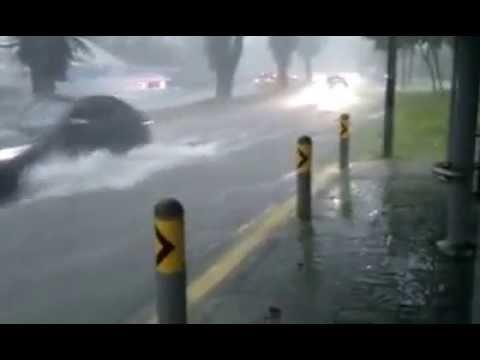 Singapore İncredible Rainfall