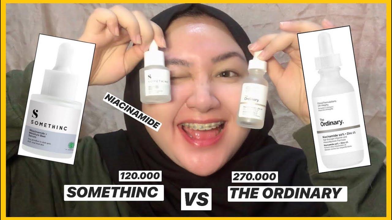 Niacinamide Serum Somethinc Vs The Ordinary Bahasa Indonesia Diendiana Youtube