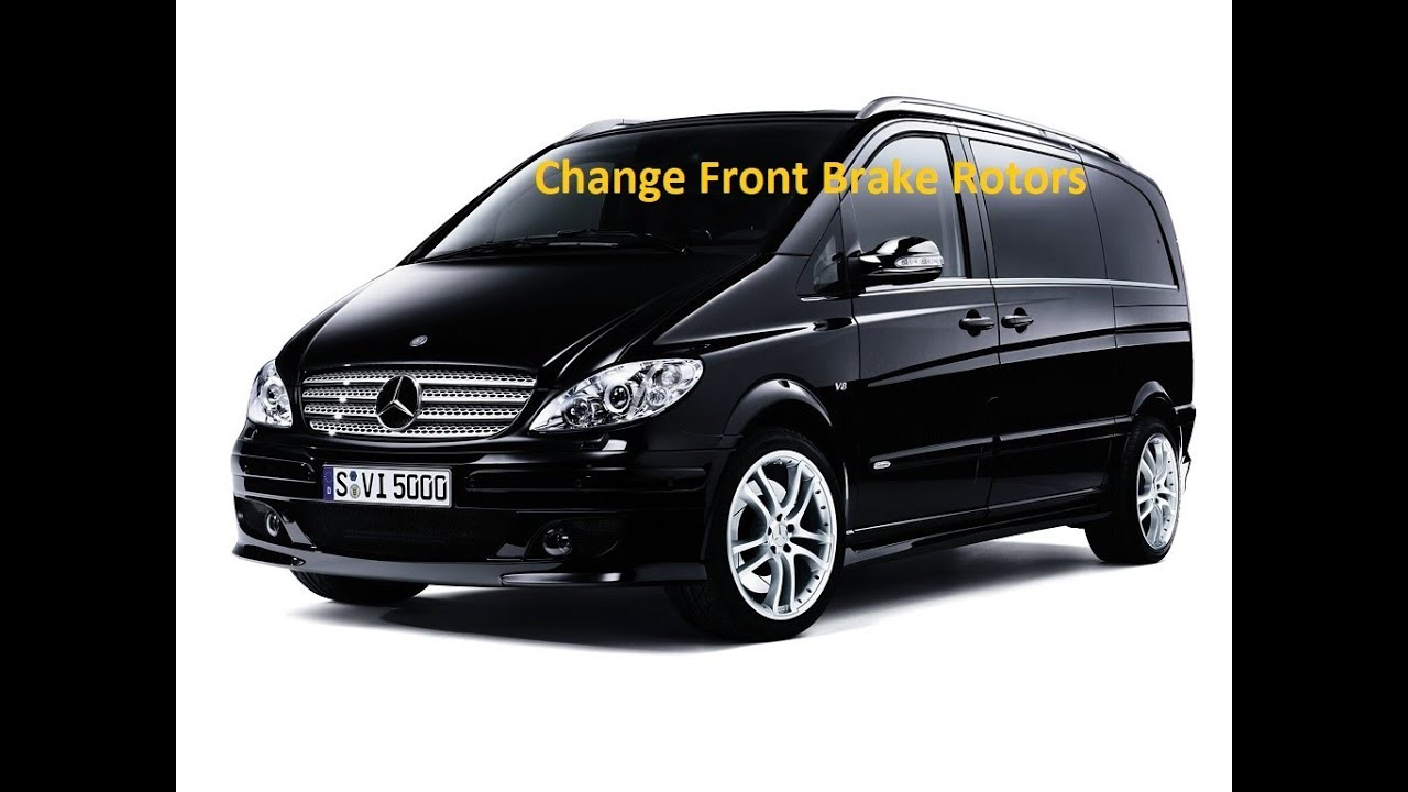 Mercedes Key Battery Change >> Mercedes W639 Vito Viano Front Brake Break Rotor Disc Change Replace Remove - YouTube