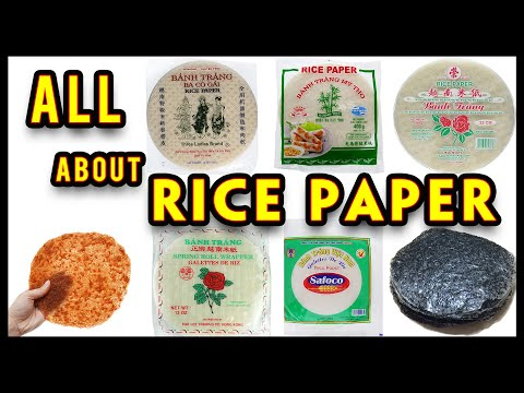 RICE PAPER Ultimate Guide