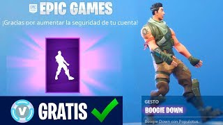 Comment GET the NEW BAILE BOOGIE DOWN Fortnite GRATUIT
