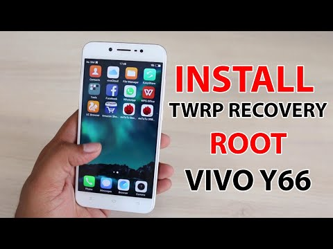 How to Install TWRP Recovery And Root VIVO Y66 - YouTube