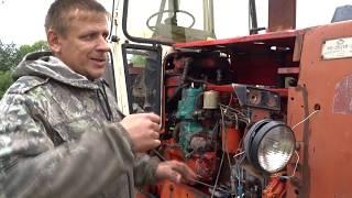 экскаватор ЭО 2621 (ЮМЗ 6)\/настройка и испытание пускача