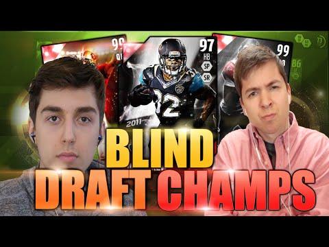 THE REVENGE GAME! BLIND DRAFT & PLAY! MADDEN 16 DRAFT CHAMPIONS VS LOSTNUNBOUND