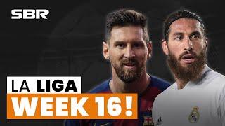 ⚽ La Liga Week 16 Football Match Tips, Odds, And Predictions (2020/21)