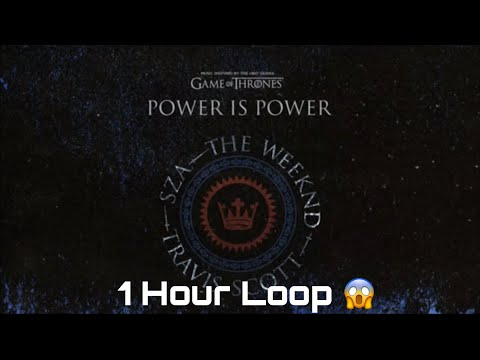 SZA, The Weeknd, Travis Scott - Power Is Power (1 Hour Loop)
