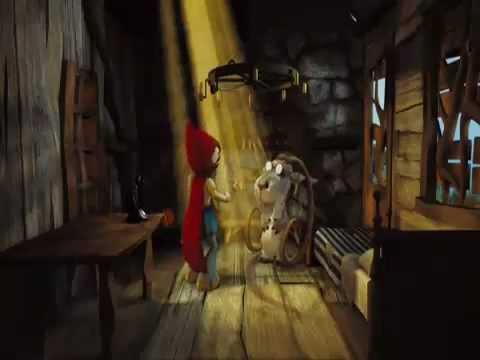 Le bouc fou de la véritable histoire du chaperon rouge poster
