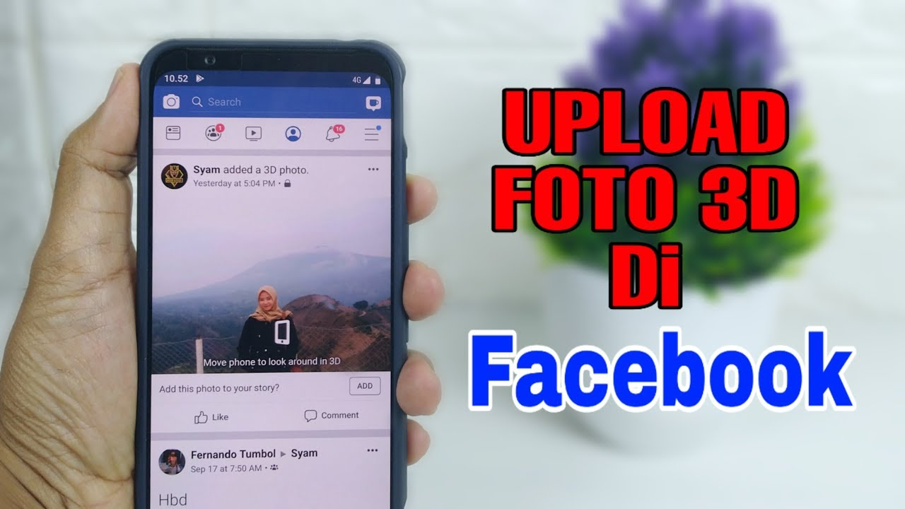 Cara Membuat Gambar 3d Di Facebook Youtube