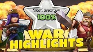 Clash of Clans BANG HOI WAR CLAN HIGHLIGHTS 23.07.2016