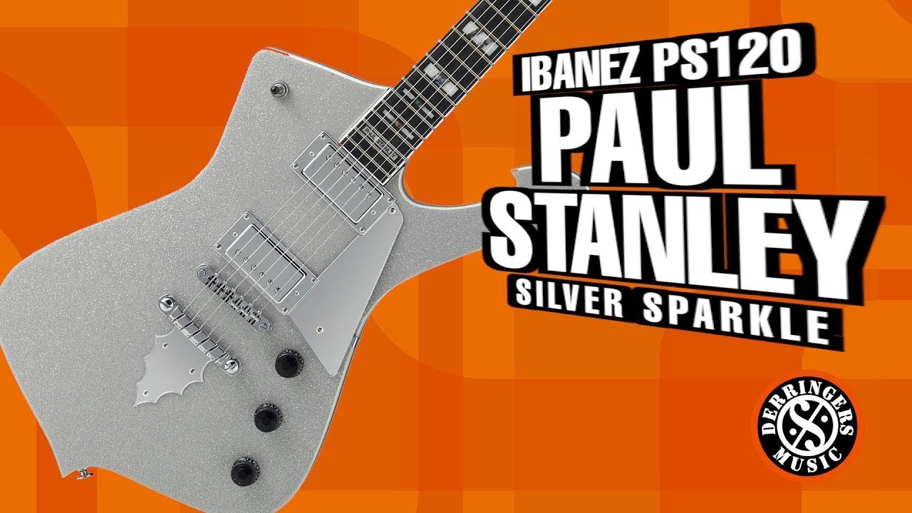 Ibanez PS120 Paul Stanley Signature - YouTube