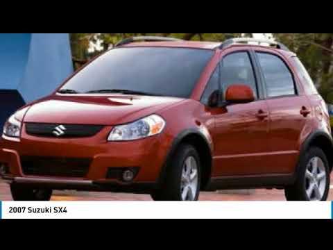 2007 Suzuki SX4 HM168978A