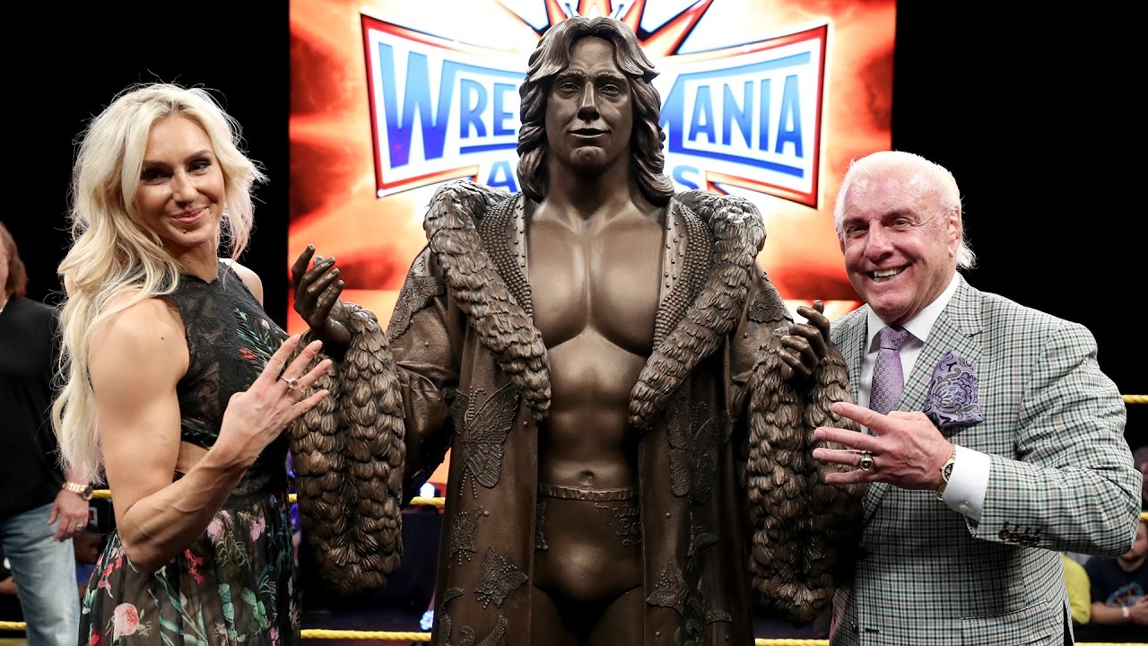 Charlotte Flair Reacts To Ric Flair S Statue Reveal