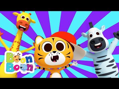 Pata tigrului – Cantece vesele cu animale pentru copii de gradinita BoonBoon – Cantece pentru copii in limba romana