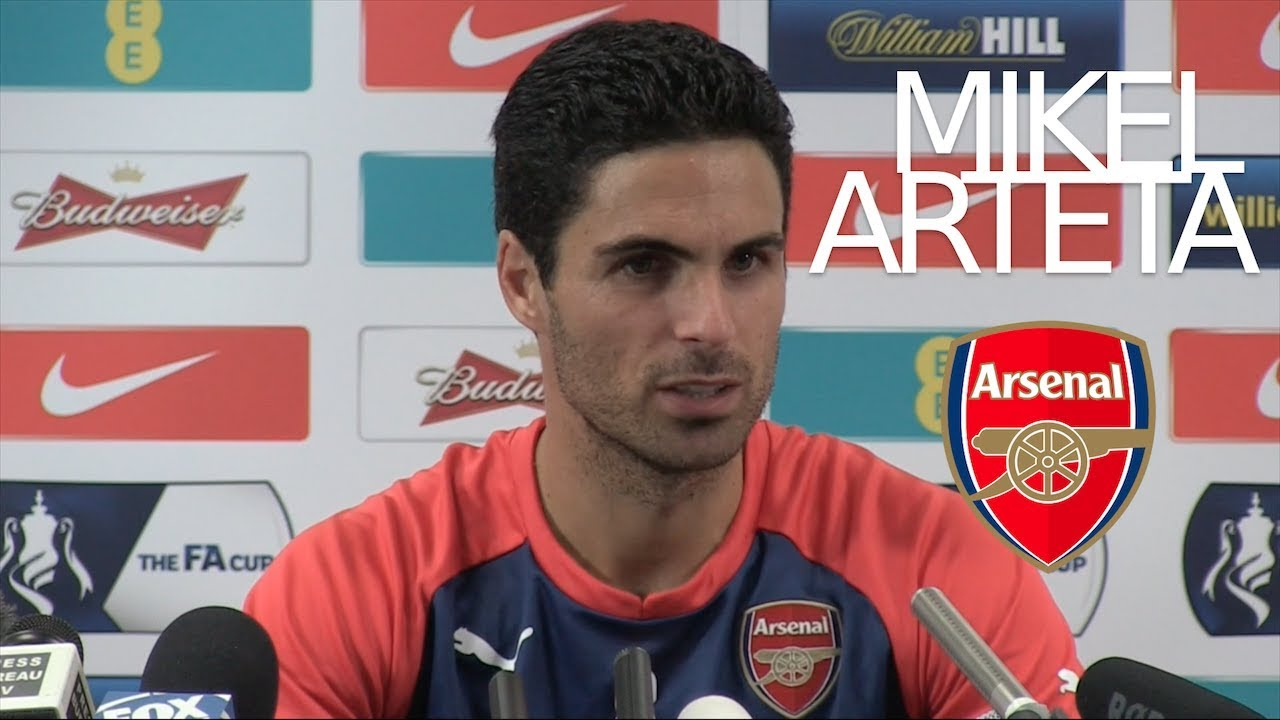 I Know How Big This Club Is Mikel Arteta New Arsenal Manager Youtube