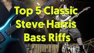 Top 5 Awesome Steve Harris (Iron Maiden) Bass Riffs