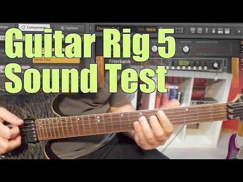 Guitar Rig 5 test