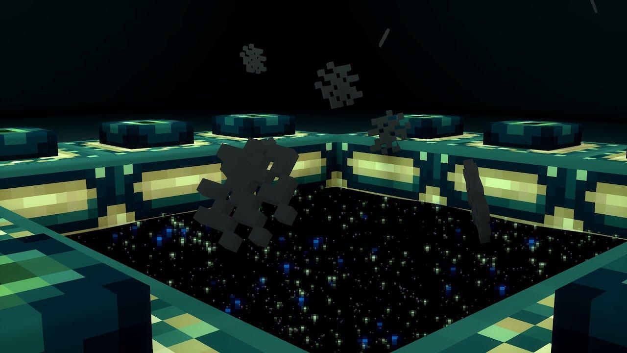 Cinema 4d minecraft end portal rig youtube sciox Gallery