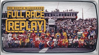North Wilkesboro Speedway: 1996 Tyson Holly Farms 400 | NASCAR Classic Race Replay