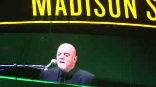 Billy Joel MSG River Of Dreams/Hard Day's Night 11/19/2015