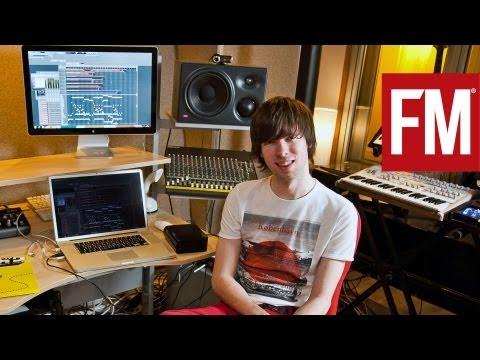 Louis La Roche In The Studio With Future Music