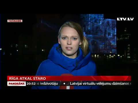 Rīga atkal staro