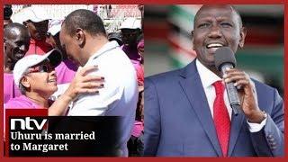 President Uhuru is married to Margaret, not me - DP Ruto