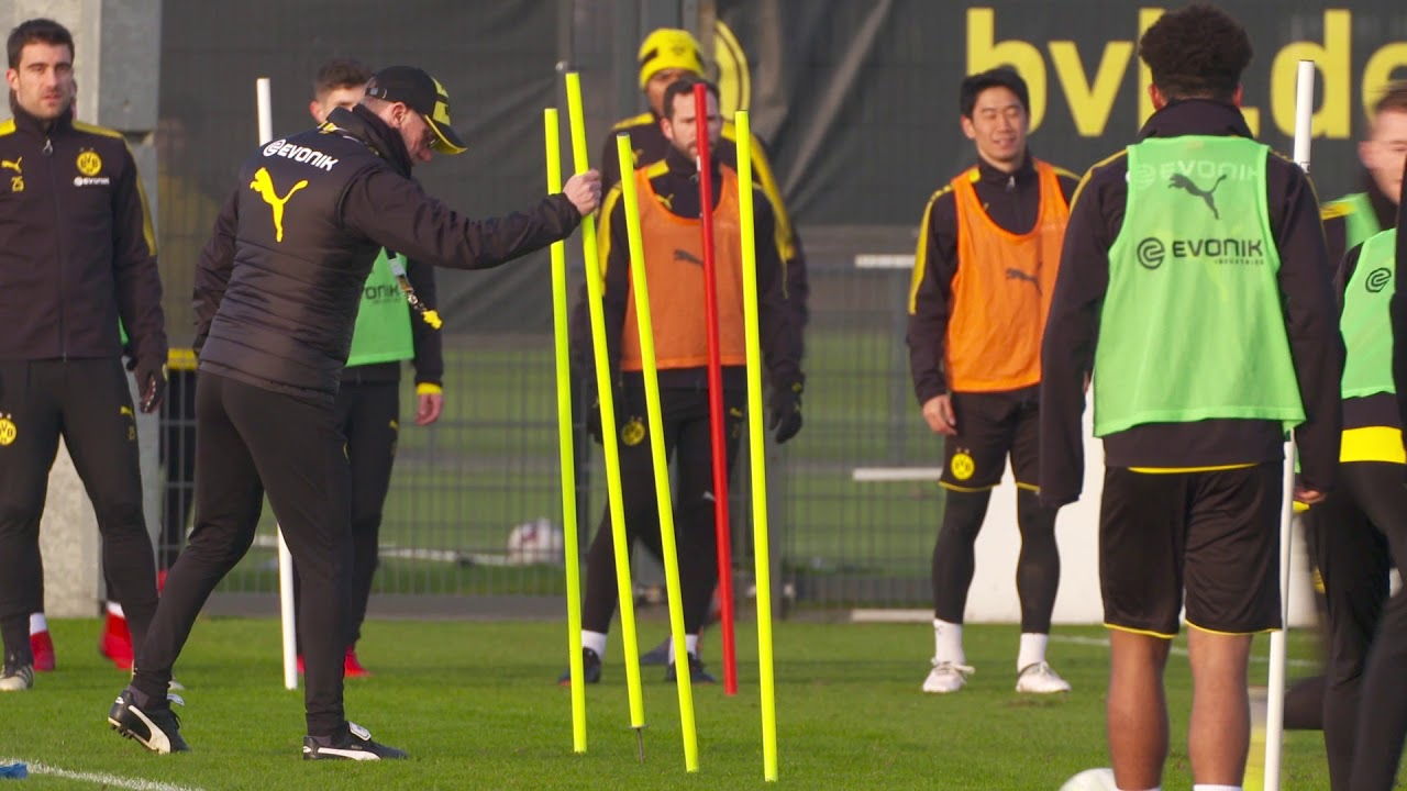 BVB-Training in Brackel am 30. Januar