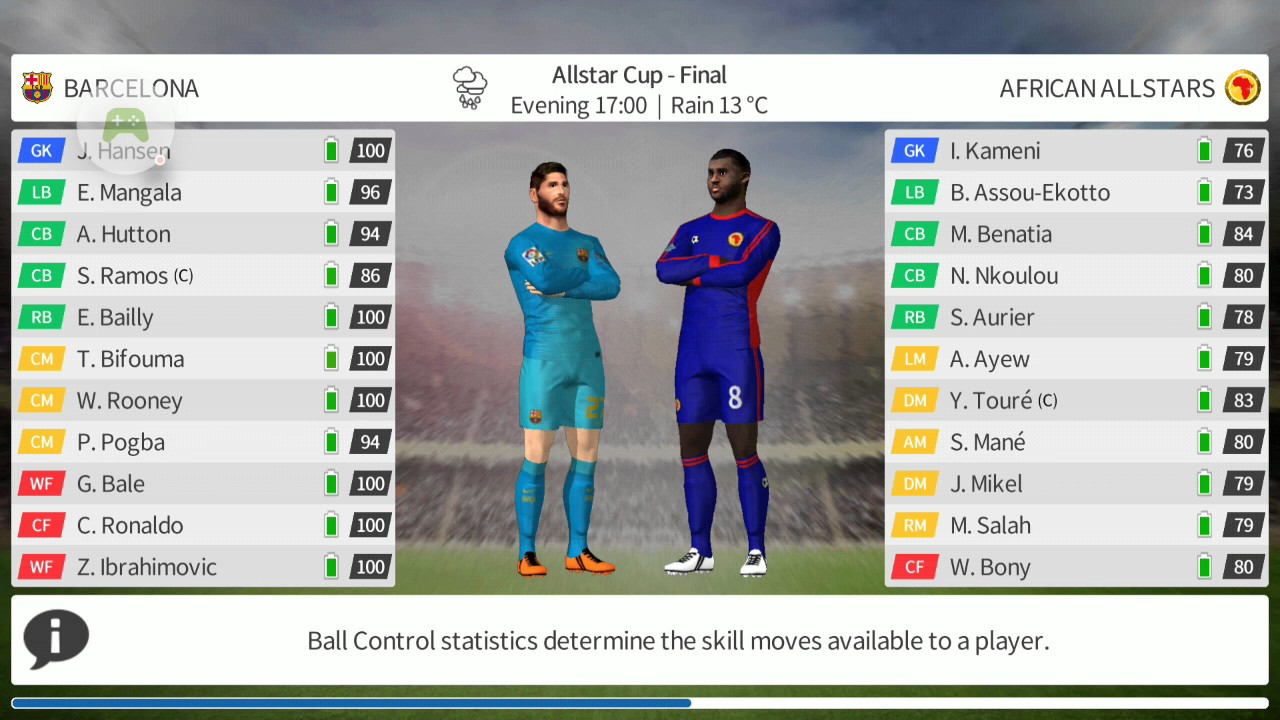 Dream League Soccer - 2016-12-31 all star cup final