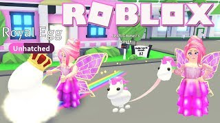 Legendary Unicorn! Roblox: 🔥PET TOYS!🔥 Adopt Me! Hatching Royal eggs