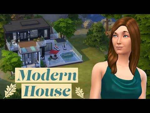 Building a Small Modern House | The Sims 4: Speed Build |