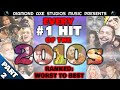 EVERY #1 HIT OF THE 2010s: Ranked Worst to Best - Part 2 by Diamond Axe Studios Music