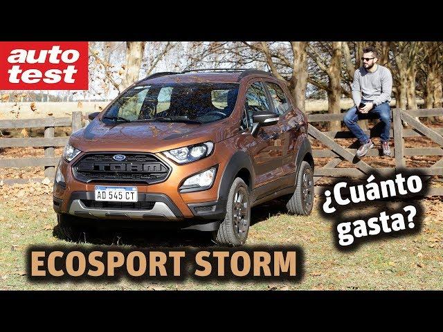 Prestaciones: Ford EcoSport Storm