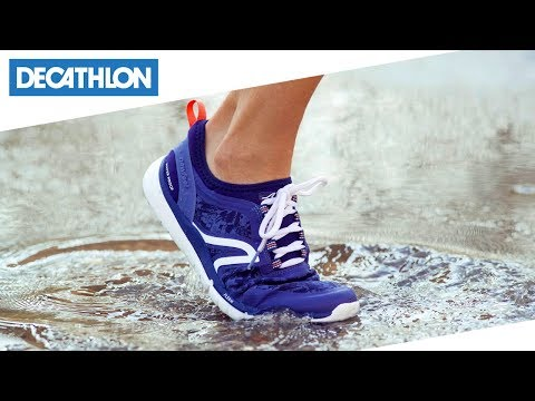 7960d7b967a Scarpe camminata donna PW580 waterproof Newfeel | Decathlon Italia - YouTube