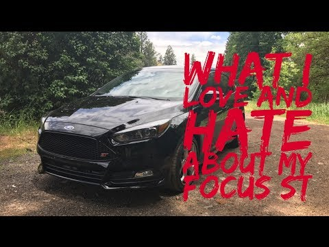 2017 Ford Focus St Love And Hate
