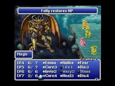 Final Fantasy Origins ( 1 ) Final Boss Battle - Playstation - YouTube