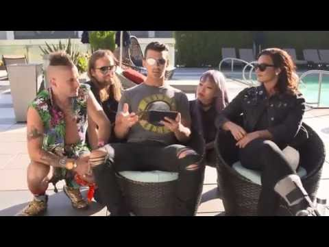 Demi Lovato, Joe Jonas & DNCE - Marriott Rewards live chat