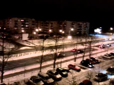 HTC Gratia - film testowy noc