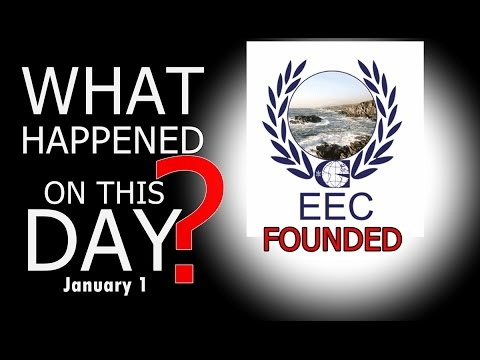 European Economic Community(EEC) Was Formed on 1st January 1958 #WhatHappenedonThisDay