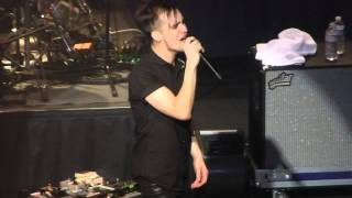 """Any Way You Want It & U Shook Me"" Panic! At The Disco@Rams Head Live Baltimore 12/9/13"
