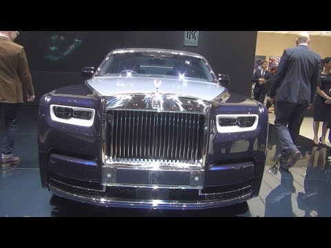 Rolls-Royce Phantom Whispered Muse Exterior Walkaround