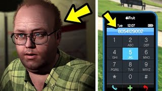 GTA 5 - Lester's Hidden Phone Number.. (call this)