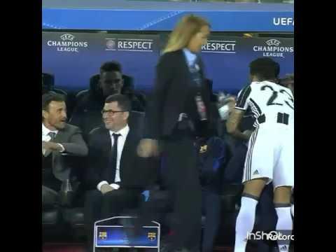 Así saludó Dani Alves a sus ex compañeros del Barcelona | Barça vs Juve| UCL