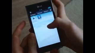 Как сделать скриншот экрана на LG P705 (L7)