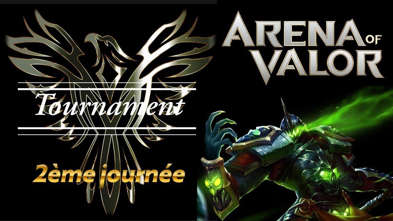 Tournoi Mythique 2ème journée - Arena of Valor FR