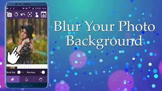 Blur Photo Editor & Shape Blur Background Effect || Blur Image Background || Guassian Blur