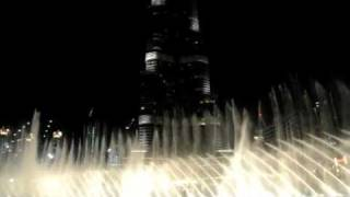 Burj Khalifa Dubai Water Fountain Show