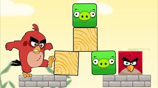 Angry Birds Piggies Out - SAVE ANGRY BIRDS AND THROW ALL BAD PIGS!