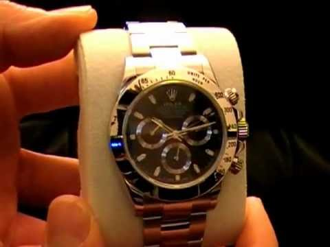 Rolex Cosmograph Daytona Black Dial Stainless Steel