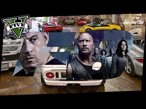 FATE OF THE FURIOUS 10 CAR GARAGE TOUR: GTA V CUSTOM CARS