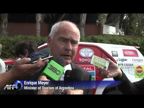 Dakar Rally organisers present 2016 event in Argentina